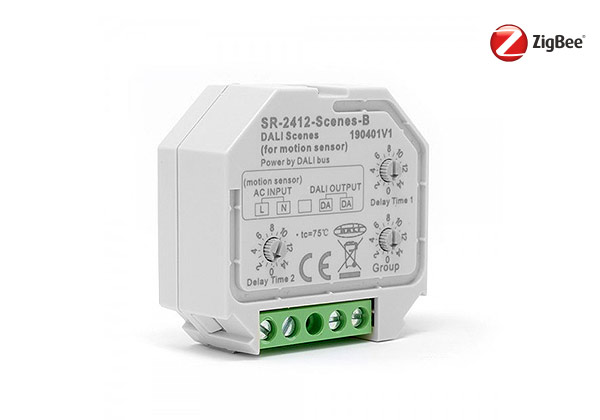 Automate your mains lighting with a zigbee switch / sensor
