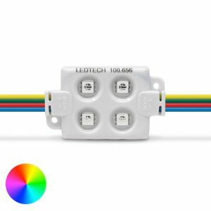 LEDTech RGB LED Module 1.44W 12V Pack of 20