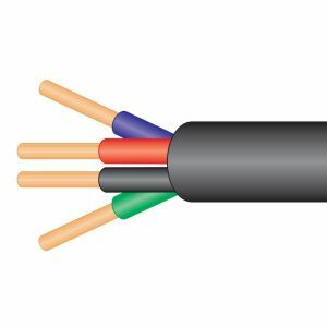 Four Core Cable 50m