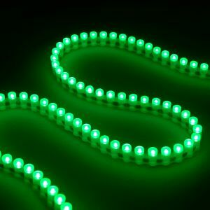 Flexi LED Strip Green IP67
