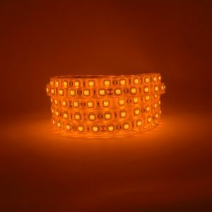 Amber 24V led strip light