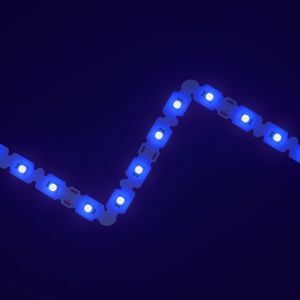 SideWinder Blue LED Letter Bendable Strip 12V