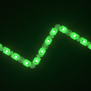 SideWinder Green LED Letter Bendable Strip 12V