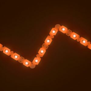 SideWinder Orange LED Letter Bendable Strip 12V