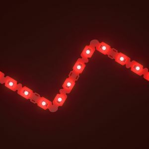 SideWinder Red LED Letter Bendable Strip 12V
