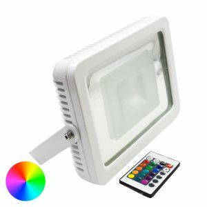 RGB 30w LED Floodlight Angled