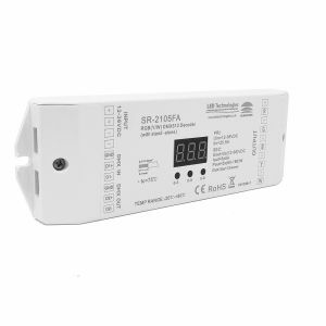 Sunricher DMX Five Channel Constant Voltage DMX Decoder