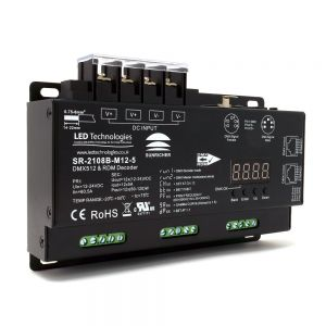 Sunricher Ultra-Pro 12 Channel DMX Decoder with RDM & Master Mode