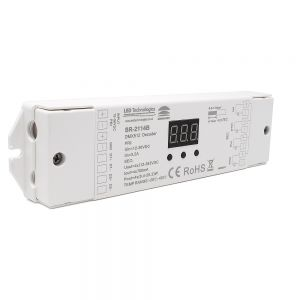 Sunricher DMX Four Channel (4 x 700mA) Constant Current DMX Decoder