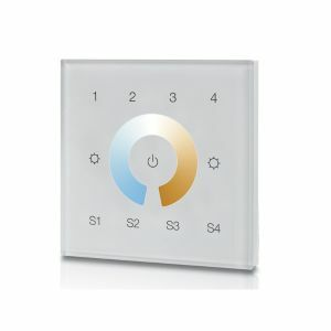 DMX Dual Colour Four Zone Wall Panel