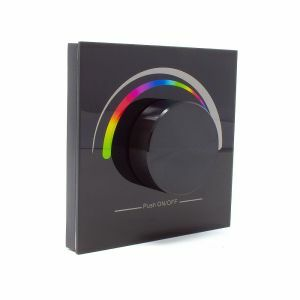 Sunricher RF 1 x Zone RGB Wall Panel Black - Front