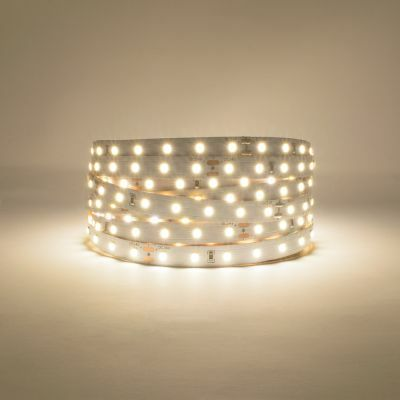 Natural White 24V LED Strip 3900-4100K Lights on