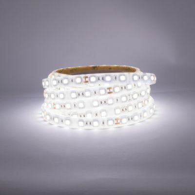 Cool White LED Strip 6000-6500K switched on
