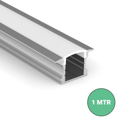 Deep Recessed LED Strip Profile 1 MTR