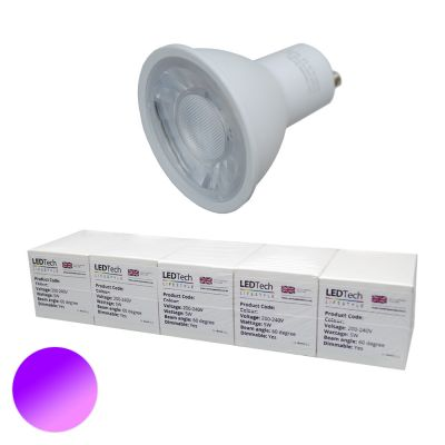Benchmark GU10 UV 385-395nm Purple Dimmable