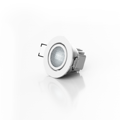 LEDTech RGB Cool White LED Downlighter - 8W DMX