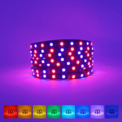 ProFlex RGB UV LED Strip (395NM) 24V IP20 Black PCB