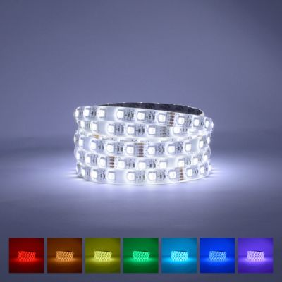 Lifestyle RGB Cool White LED Strip 6000-6500K 24V 72W IP65