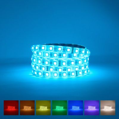 Lifestyle RGB Natural White LED Strip 4000-4500K  24V 80W IP63