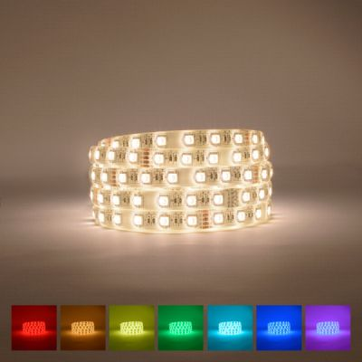 Lifestyle RGBWW LED Strip (3000-3500K) 24V 72W IP65