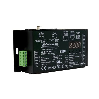Sunricher 5 Channel DMX512 Decoder
