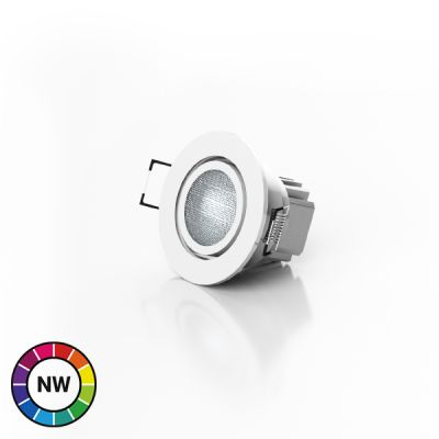 LEDTech RGB Natural White LED Downlighter - 8W