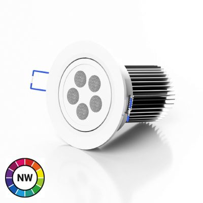 LEDTech RGB Natural White LED Downlighter - 40W
