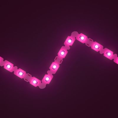 SideWinder Pink LED Letter Bendable Strip 12V