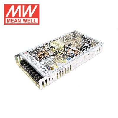 meanwell 200w 24v led driver meanwell logo on white background