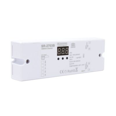 Sunricher DMX Single Channel Mains Powered Switch