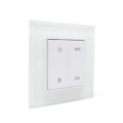 RF Dual Color Wall Mounted Controller