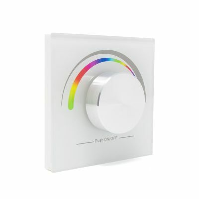 Sunricher RF 1 x Zone RGB Wall Panel White Front