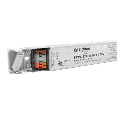 75W 24V Constant Voltage 2 Channel Zigbee Dimmable LED Driver