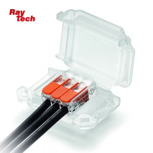 RAYTECH H-ZERO Gel Connector IP68 41mm x 28mm x 19mm with connector