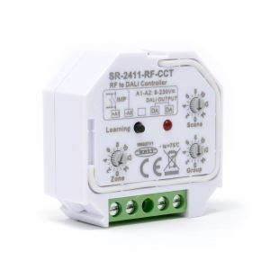 Sunricher RF to DALI DT8 Receiver for CCT Group & Scene Control