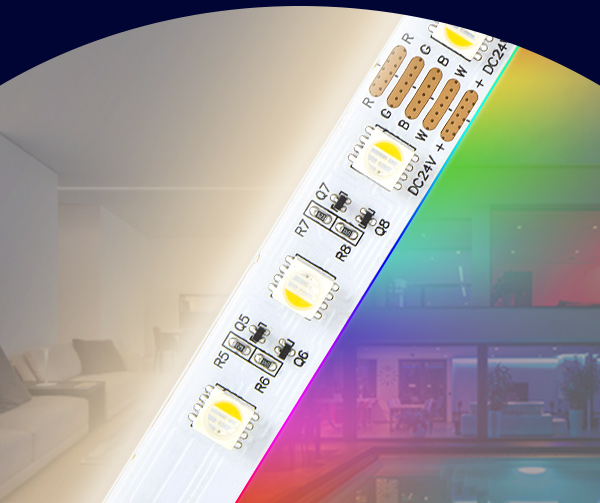 10 MTR RGBNW LED STRIP LIGHTS