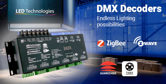 DMX Decoders - Endless Lighting Possibilities