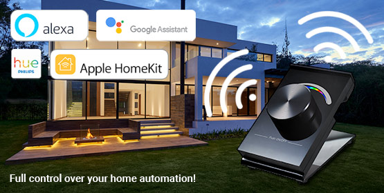 Full control over your home automation with Sunricher products
